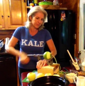 Apple Crisp - Beth making PCRM version