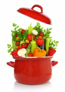 vegetables-in-a-red-cooking-pot